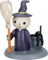 Lucky Witch Skellies Figurine