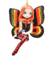 Jasmine Becket Griffith Strangeling Vivid Wings Fairy Ornament