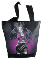 Leslie Fairy Gothic Guitar Hand Bag Tote