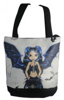 Bat Wings Fairy Hand Bag Tote