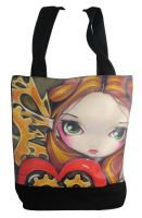 ClockWork Valentine Fairy Hand Bag Tote