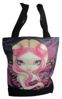 Pink Lightning Fairy Hand Bag Tote