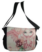 Pale Rose Fairy Messenger Bag