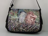 Field of Dreams Messenger Bag by Sheila Wolk
