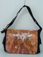 Phoenix Rising Fairy Messenger Bag