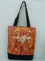 Phoenix Rising Fairy Hand Bag Tote