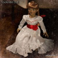 The Conjuring Annabelle Creation Doll Replica 18 Inch by Mezco *SLIGHTLY DENTED BOX*