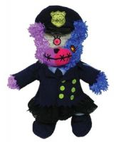 Teddy Scares Mazey Podge Prison Guard Plush Bear
