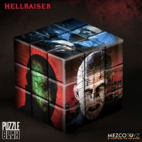 Hellraiser 3 Hell on Earth 3D Puzzle Blox Mezco Toyz