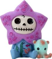 Hoshi Starfish Furry Bones Skellies Figurine