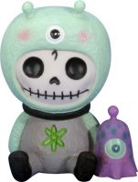 Aeon Alien Furry Bones Skellies Figurine