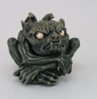 Angry Toad Gargoyle