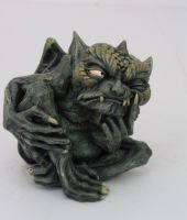 Thinking Toad Gargoyle