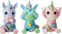 See, Speak and Hear No Evil Unicorns Figurines