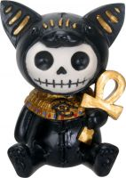 Bastet Furry Bones Skellies Figurine