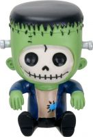 Frankie Frankenstein Furry Bones Skellies Figurine