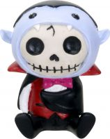 Count Dracula Vampire Furry Bones Skellies Figurine