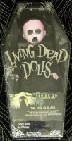 "Living Dead Dolls Series 29 The Nameless Ones ""The Girl in Black"""