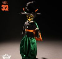 "Living Dead Dolls Series 32 Halloween ""Salem"" The Black Cat Witch"