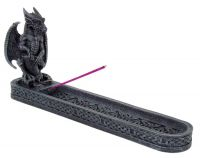 Dragon Perched with Sword Incense Burner
