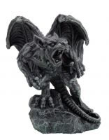 Growling Gargoyle Warrior Figurine