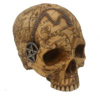 Salem Witch Skull With Pentacle