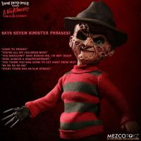 Living Dead Dolls A Nightmare on Elm Street Talking Freddy Krueger *SLIGHTLY DENTED*