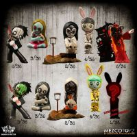 Living Dead Dolls 2 inch Figurine Blind Boxed Resurrection Series 1