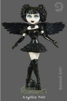 Bleeding Edge Series 4 Begoths 7 inch Angelica Noir Figurine