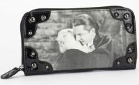 Rock Rebel Black PVC Bela Lugosi Dracula Wallet