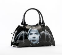 Universal Monsters Dracula Bat Shaped Handbag Purse by Rock Rebel