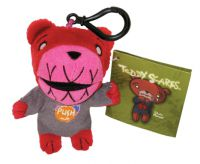 Teddy Scares Edwin Morose Monster Mouth Mini Plush Clip On