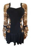 Plus Size Wildcat Bolero Lacing Corset Top