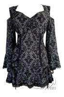 Jr. Plus Size Gothic Temptation Corset Top in London