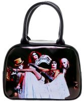 Rocky Horror Picture Show Cast Bowler Purse Handbag