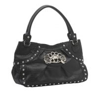 Rock Rebel Treat Me Right Black Purse