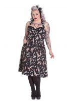 Hell Bunny Plus Size Rockabilly Zombie Diner 50's Dress