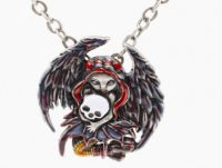 Skull Stealer Fairy Necklace