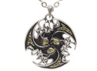 Celtic Lion Trinity Necklace