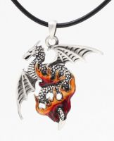 Flame Dragon Necklace