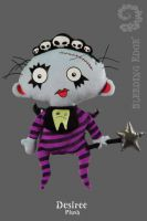 Bleeding Edge Series 4 Desiree Decay Minor Misfits Plush Doll