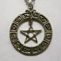 Zodiac Pentacle Necklace
