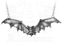 Alchemy Gothic Bat Pendant Necklace