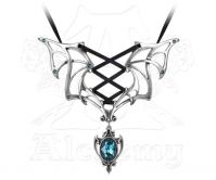 Alchemy Gothic Moulin Rouge Vampire Pendant Necklace