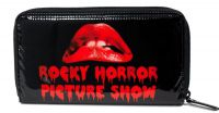 Rock Rebel Black and Red Rocky Horror Picture Show PVC Vinyl Wallet