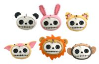 Furrybones Skull Head Skellies Magnets Set