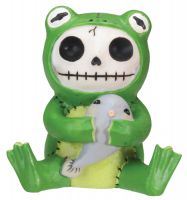 Froggie Furry Bones Skellies Figurine