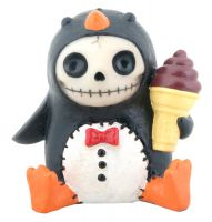 Pen Pen Furry Bones Skellies Figurine