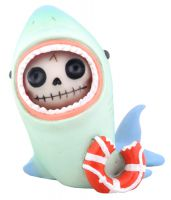 Sharkie Furry Bones Skellies Figurine
