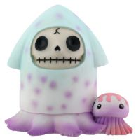 Squeed Furry Bones Skellies Figurine